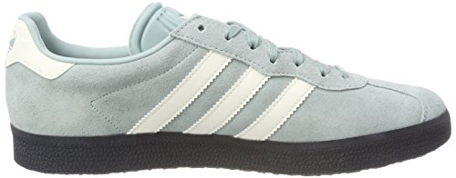 adidas Gazelle Super, Chaussures de Gymnastique Homme Vert (Tactile Green S17/off White/carbon S18)