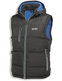 UVEX 9892 Thermo-Steppweste 9892/schwarz-blau L