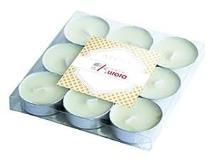 Candele d 39 aurora atena lot de 9 bougies chauffe plat for Aurora maison de cuisine