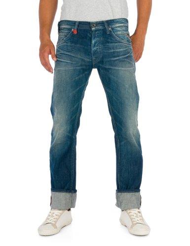 Replay Herren Straight Leg Jeans Tillbor MA995 Blau (7)