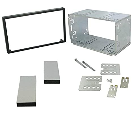 XtremeAuto® UNIVERSAL, 100mm DOUBLE DIN CAGE for car stereo, cd player, sat nav, head unit etc.