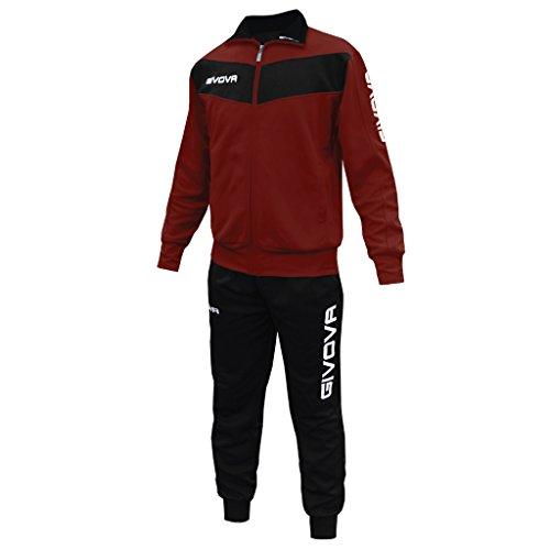 givova-abbigliamento-sportivo-traicksuit-tuta-visa-granata-nero-xl