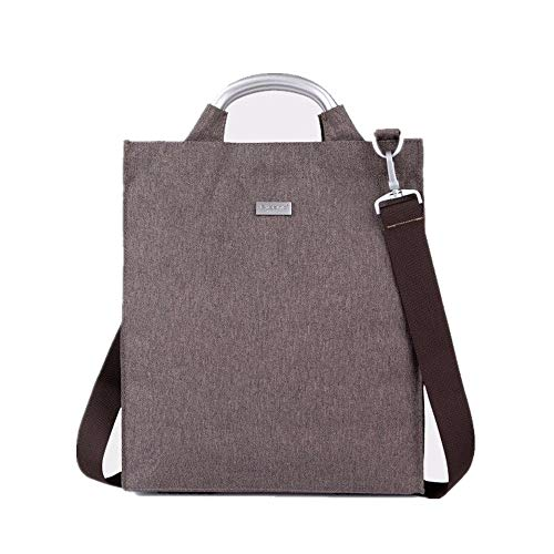 Polyester Business-tasche (NSGP Polyester Multifunktions-Business-Aktentasche 15-Zoll-Laptop-Tasche (Farbe : Gray))
