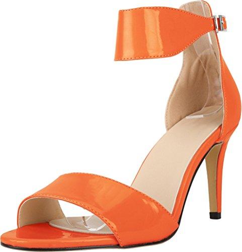 CFP ,  Damen Knöchel-Riemchen Orange