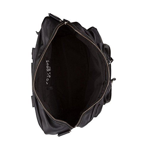 Cowboysbag 1030 Unisex-erwachsene Henkeltaschen 42x27x15 Cm (bxhxt) Schwarz