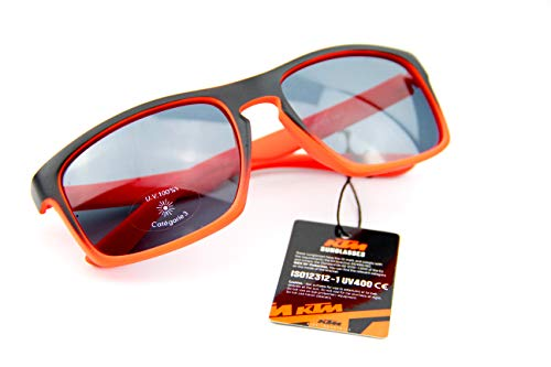 KTM Sonnenbrille C3 schwarz matt orange neon inkl. Key Holder (5-202)