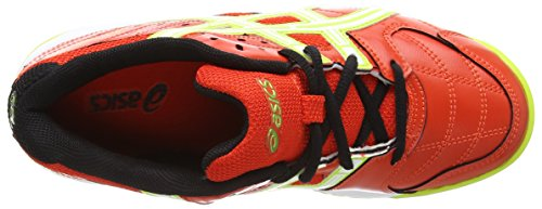 Asics Gel-squad Gs, Scarpe fitness Unisex - Adulto Rosso (Cherry Tomato/White/Black 2101)
