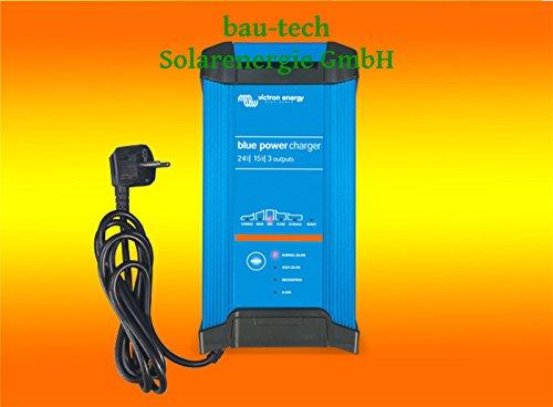 Batterieladegerät 24Volt / 16Amper Victron Blue Power Batterie Charger IP22 von bau-tech Solarenergie GmbH