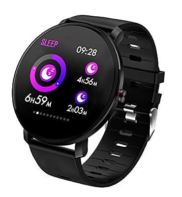 TDOR Smartwatch con Whatsapp Hombre Mujer Reloj Inteligente Android iOS Deportivo