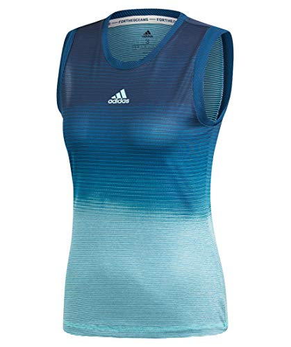 adidas Damen Parley Tanktop, Legend Ink/Blue Spirit S