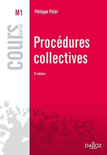 Procdures collectives - 8e d.