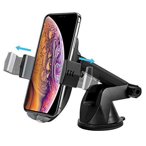 FishOaky Wireless Charger Auto Handy Halterung, Qi Drahtloses Ladegerät Induktiv 10W, Autohalterung schnellladegerät Air Vent Phone Holder für Samsung, Huawei, Smartphone und alle Qi Fähige Geräte