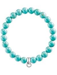 Thomas Sabo Charms Bracelet Turquoise x0213–404–17