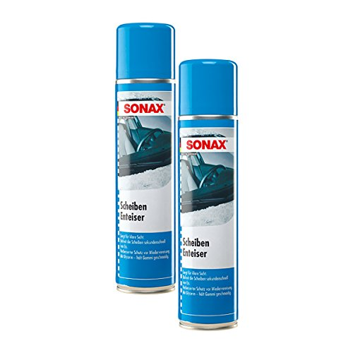 2x SONAX 03313000 ScheibenEnteiser Eisfrei Antifrost Spray 400ml