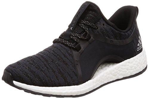 adidas Damen Pureboost X Fitnessschuhe Grau (Carbon/Plamet/Negbas 000) 38 2/3 EU
