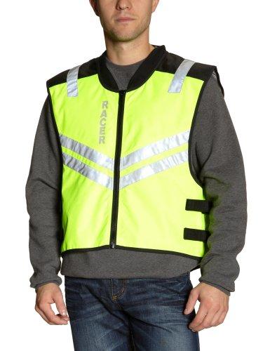 Racer Bodyguard Filas Chaleco, Amarillo Fluorescente, S-L