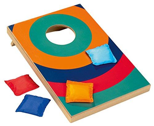 Spiel Cornhole Kinder (moses. Wooden Game Beanbag Toss | Geschicklichkeitsspiel Cornhole)
