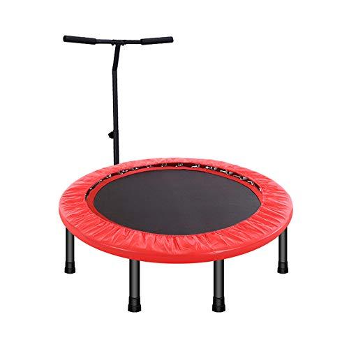 Homesave trampolino con u-maniglia regolabile in altezza piega 40 pollici,red