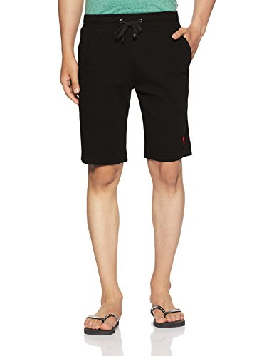 US Polo Association Men's Cotton Lounge Shorts 1