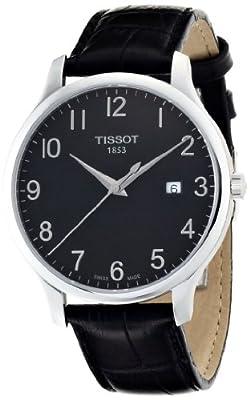 Tissot T0636101605200 de caballero de cuarzo con correa de piel negra