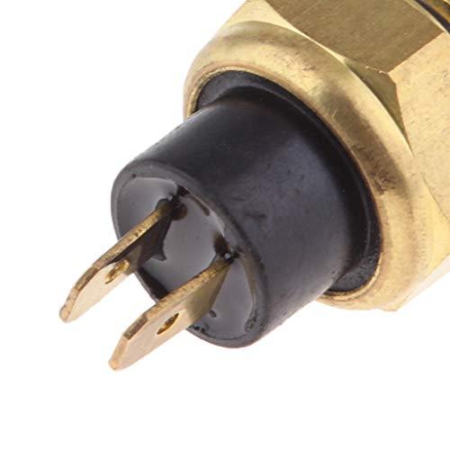 perfk 1 Stück M16 Kühlerlüfterschalter Wasser-Temperatur-Sensor Ersatz für Kühlerlüfterschalter -
