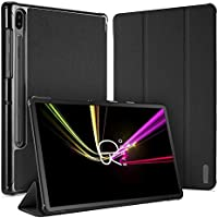 Radoo Funda para Galaxy Tab S6 10.5,Premium Cubierta Ligera Stand Fución Case Cover Protector con Auto Estela/Sueño para Samsung Galaxy Tab S6 10.5 Pulgadas (Negro)
