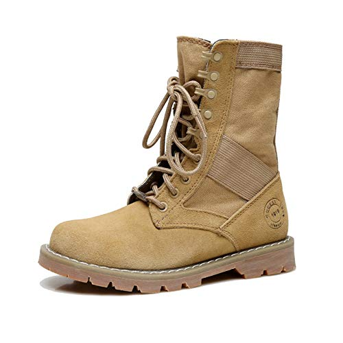 d652b6864ef DAMENGXIANG Women s Martin Boots British Style Leather Boots Fashion Retro  Ankle Boots 35 Style 2