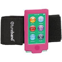 TuneBand para iPod Nano 7ª Generación/8th generación (modelo A1446, 16GB), Premium brazalete deportivo con dos correas y dos protectores de pantalla