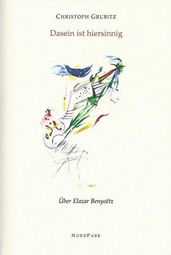 g: Über Elazar Benyoëtz (Die besonderen Hefte) ()
