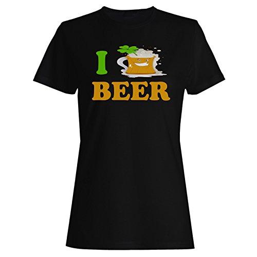 Bier irisch neuheit lucky lustig st. Patricks Tag Damen T-shirt (Patricks Damen St Shirt Tag)