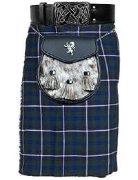 Douglas 5 m 10 g Motif Tartan écossais traditionnel Highland Chaussettes de Kilt pour homme