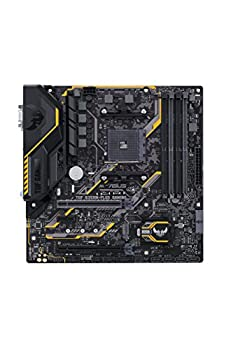 Asus Tuf B350m-plus Gaming Mainboard Sockel Am4 (Micro-atx, Amd B350, 4x Ddr4-speicher Mit 3200 Mhz, M.2, Usb3.1 Gen2, Tuf-armor) 1