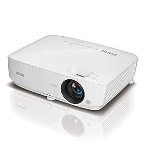 BenQ MS535 DLP-Business Projektor (mit 3.600 ANSI Lumen, SVGA, 800 x 600 Pixel, Kontrast 15.000:1, 1,2:1 Zoom, Smart Eco) weiß