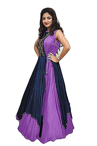 Salwar Suits Dress Materials Dresses Cotton Silk A-Line Printed And Embroidery Designers...
