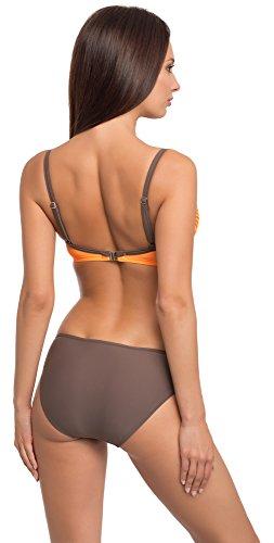 Verano Damen Bikini Rachel Orange/Braun