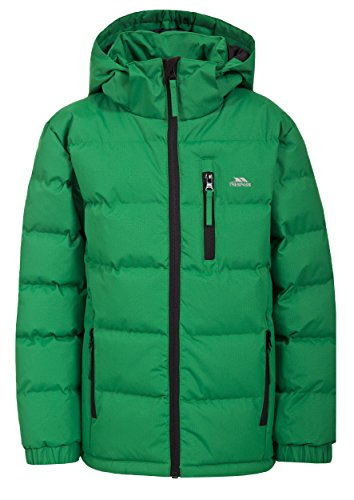 Trespass Boys' Tuff Jacket, Clover, Size 9/10