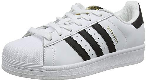 adidas Superstar, Zapatillas de deporte Unisex Adulto, Blanco (Ftwr White/Core Black/Ftwr White),...