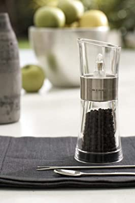 Cole&Mason Inverta Flip Salt and Pepper Mill Gift Set - Acrylic and Chrome/Silver, 15.4 cm by DKB Household UK Ltd