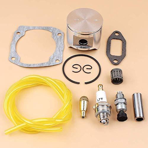 AiCheaX Strumenti Kit di Manutenzione dell'anello dello spinotto del pistone da 48 mm per Le Parti Speciali del Motore della Motosega Husqvarna 365 365XP