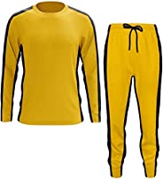 Yellow Martial Sportswear - Chinese Martial Arts Costume - Spandex + Cotton Breathable Fabric - for Running Ro