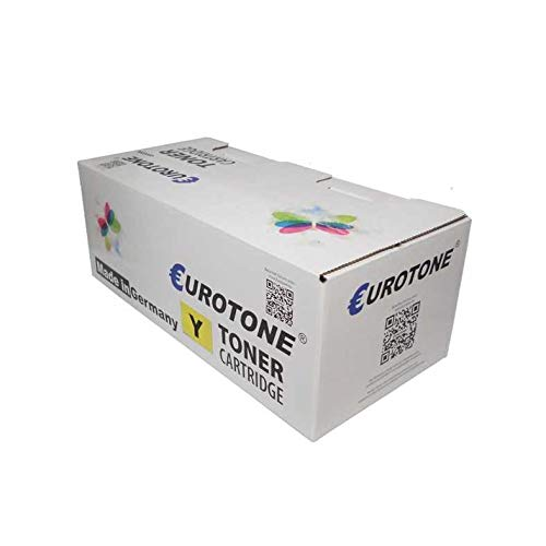 00 Yellow Laser Toner Cartridge - 1x Eurotone Toner für Xerox Phaser