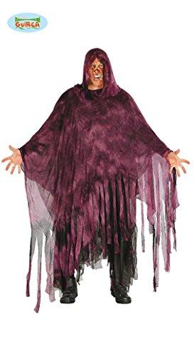 Nebel Geist Kostüm für Herren Geister Halloween Herrenkostüm Zombie Gr. M/L, Größe:L