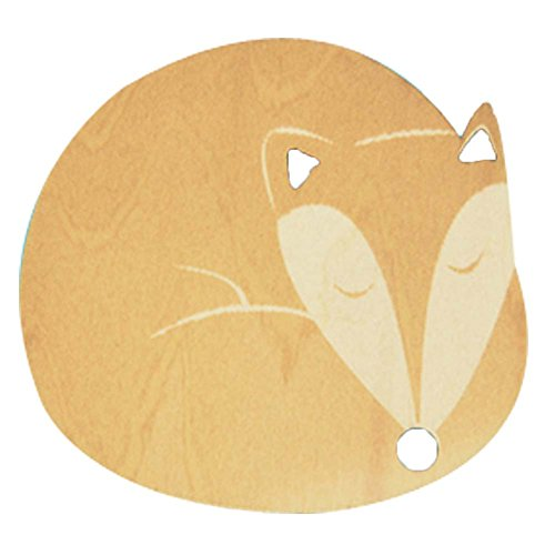 set-of-5-sleeping-fox-wooden-coasters-insulation-placemats