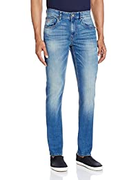 U.S. Polo Denim Co. Men's Tapered Fit Jeans - B01ASRXTSE