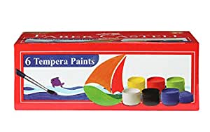 Faber Castell Tempera Paint Set - Pack of 6 (Assorted)