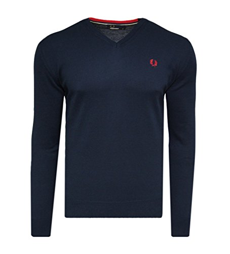 Fred Perry -  Maglione  - Uomo blu navy