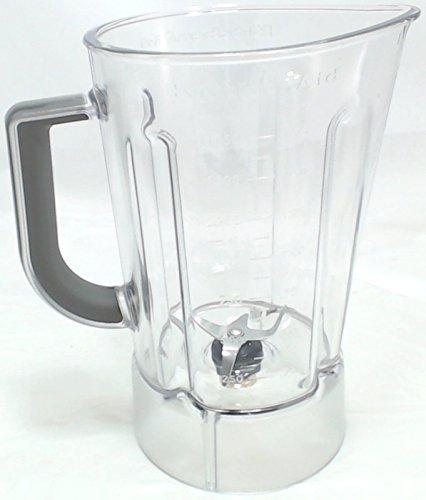 56Oz Kunststoff Blender Jar Montage für KitchenAid, ap5804640, wpw10555711 (Jar Aid Kitchen Blender,)