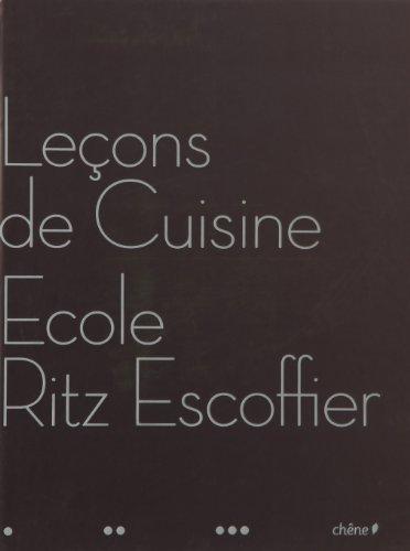 Leçons de cuisine de l'école Ritz-Escoffier