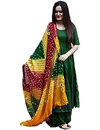 a49fe5ad0a8 Sathiya Creation Woman Rutba Multi-Color Rayon Salwar Suit With Dupatta