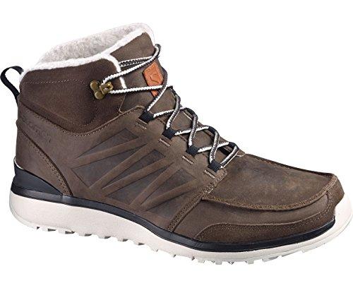 Salomon SalomonUtility - Scarpe da trekking e da passeggiata Uomo Marrone (Braun (Brown Ltr/Bison Ltr/Light Grey -))